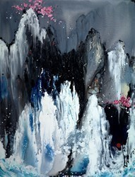 Passage to the Sky by Danielle O'Connor Akiyama -  sized 55x72 inches. Available from Whitewall Galleries